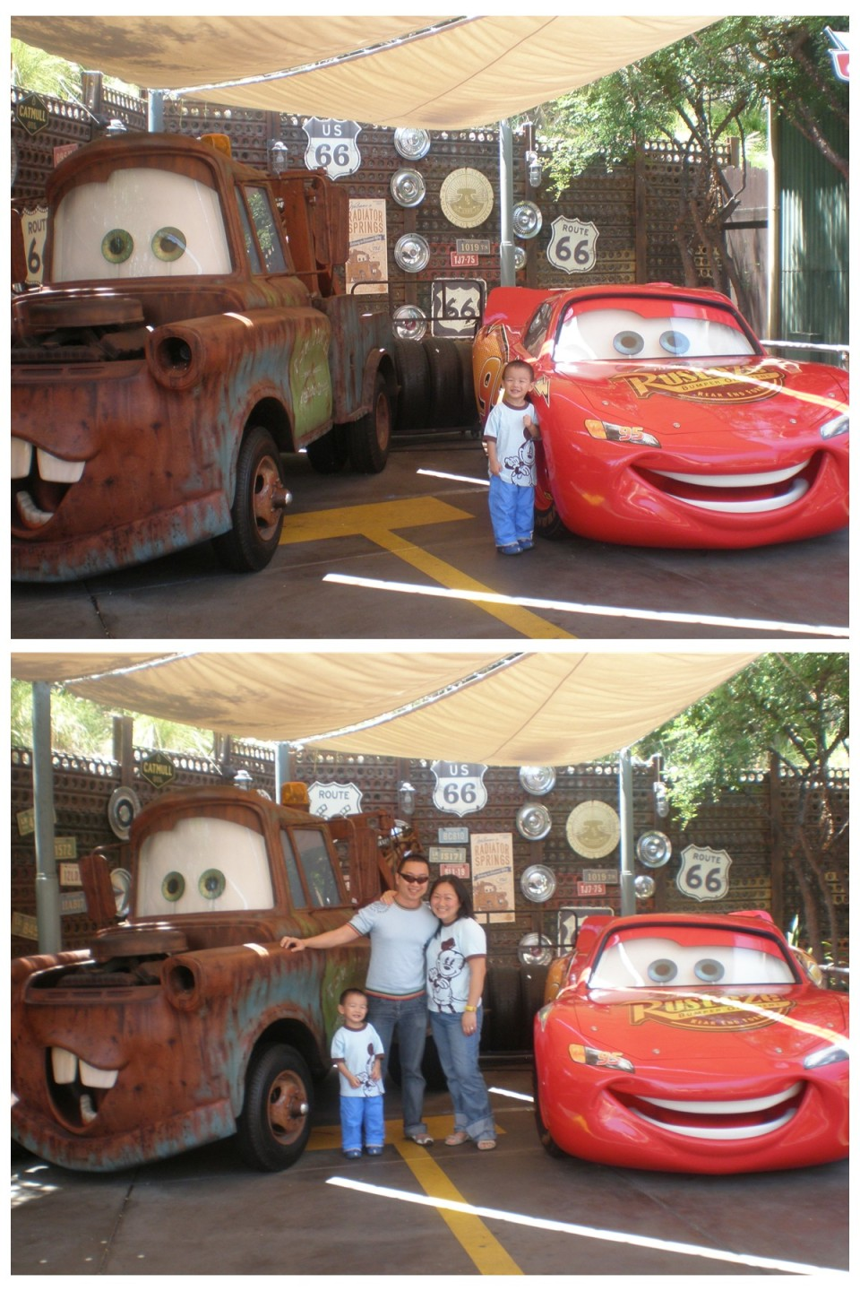 Lightning Mc Queen & Mater