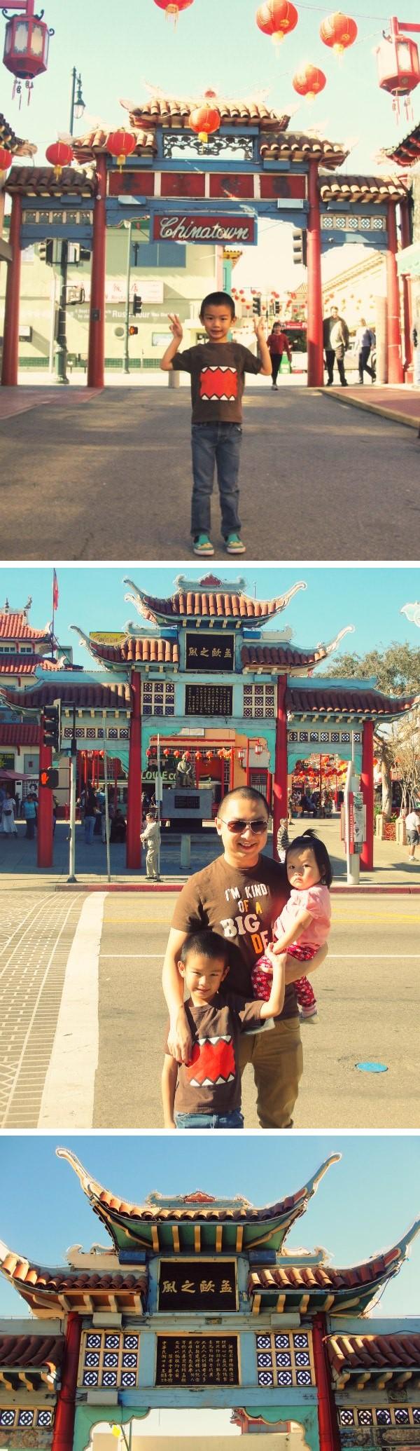 chinatown gapura