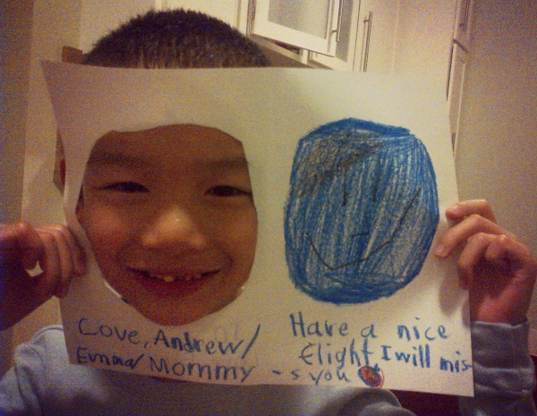 andrew miss you card