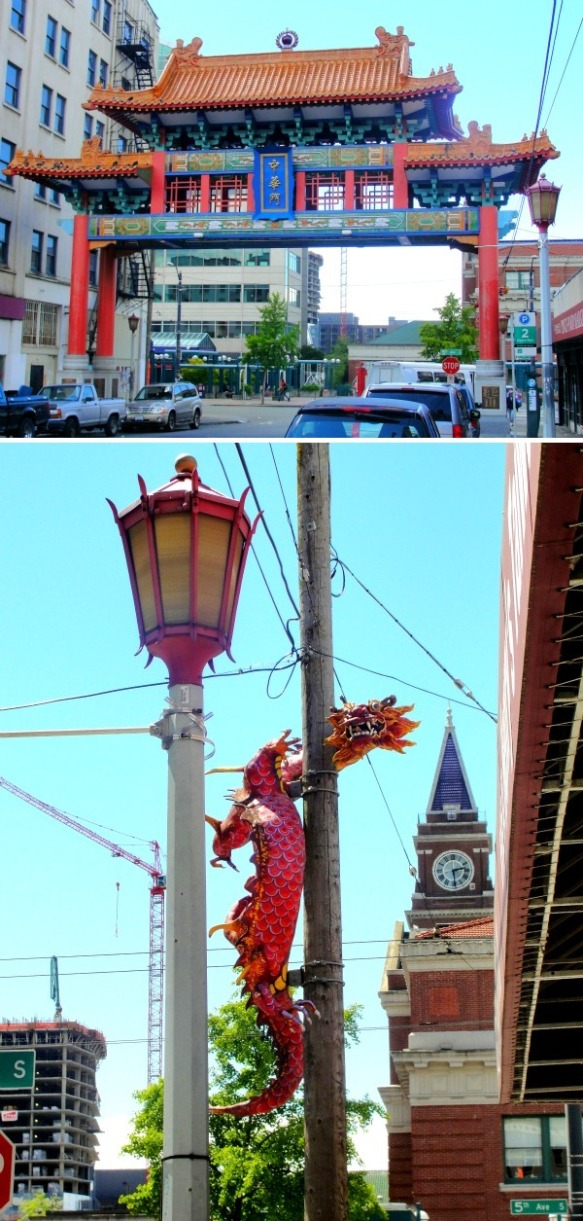 chinatown collage
