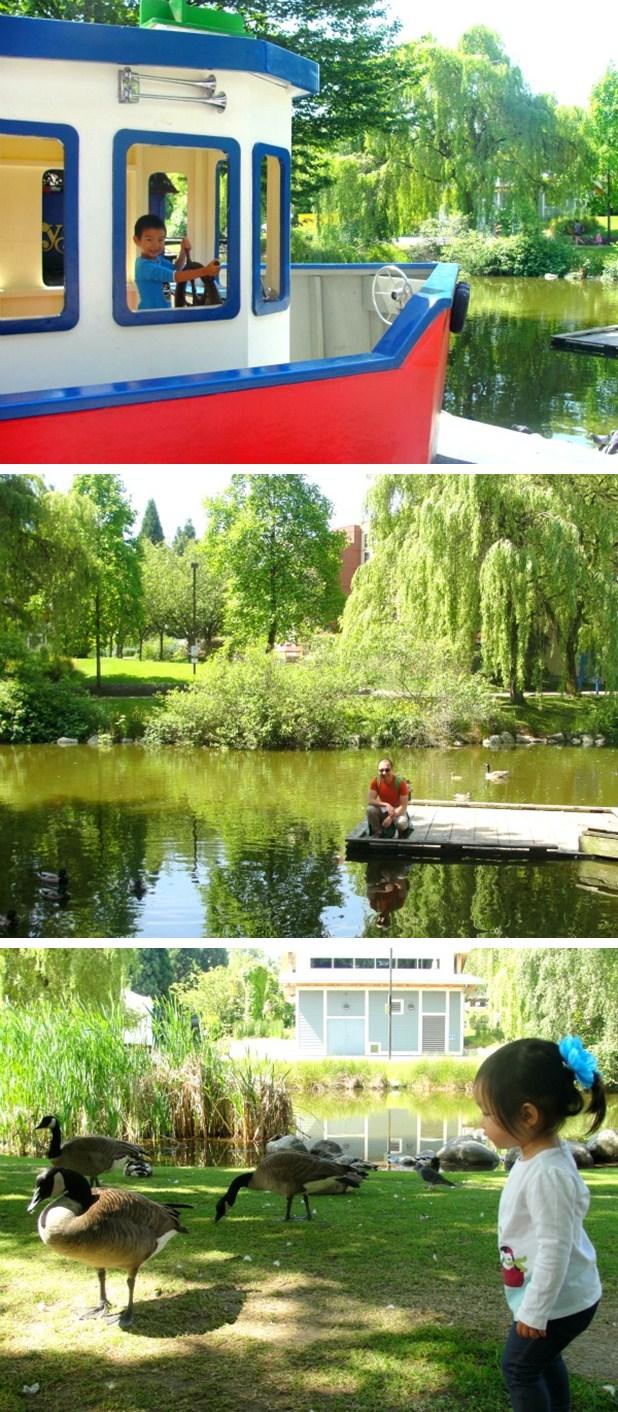 granville island pond