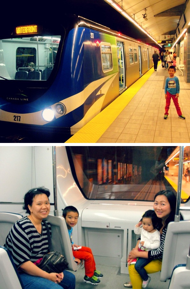 skytrain collage