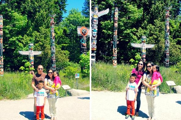 stanley park - totem poles-horz