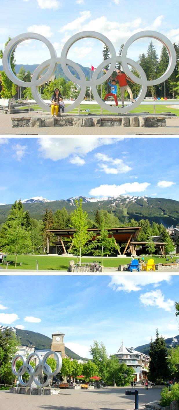 whistler village collage3