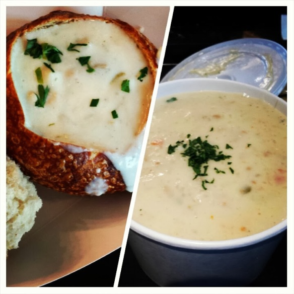 day 4 clam chowder