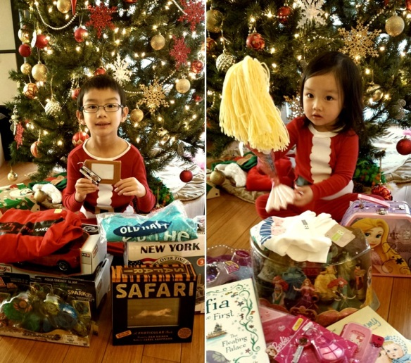 3 with presents