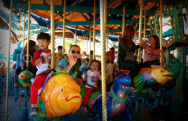 12 king triton carrousel