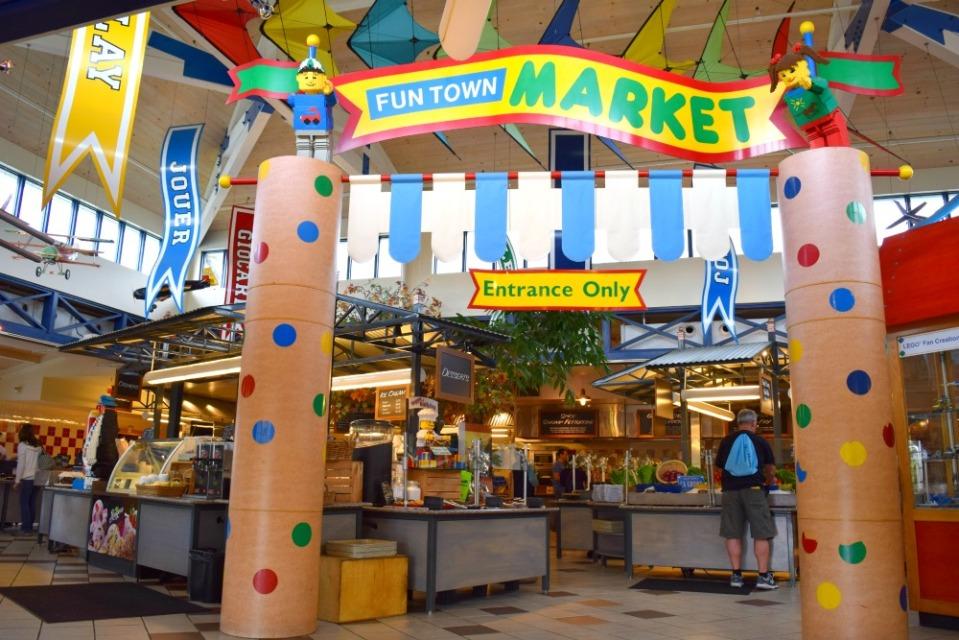 legoland fun town market