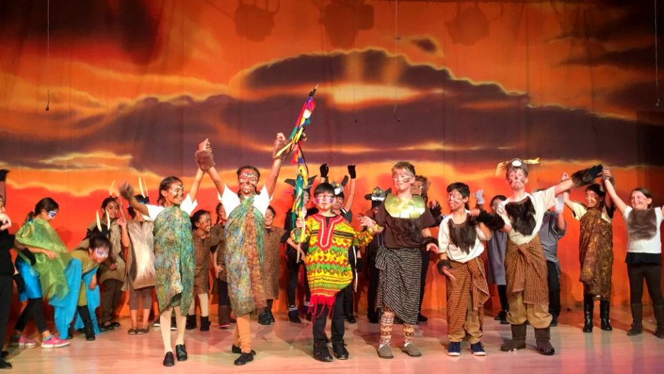 lion king curtain call