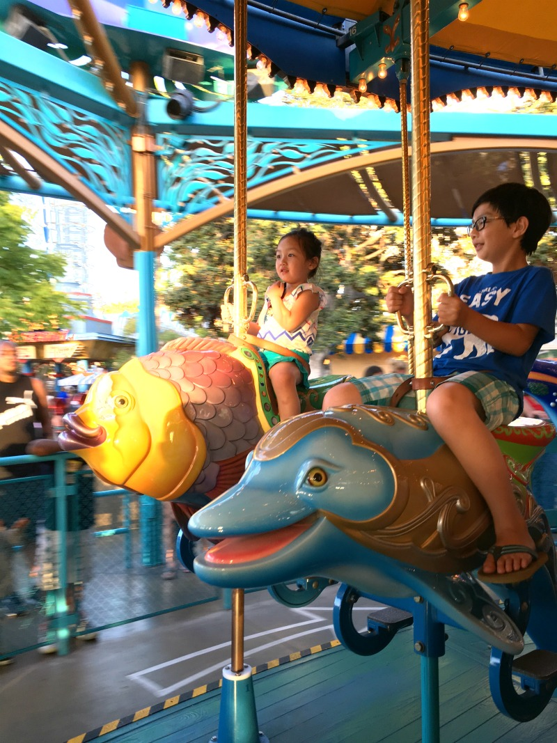 disneyland 16 carousel