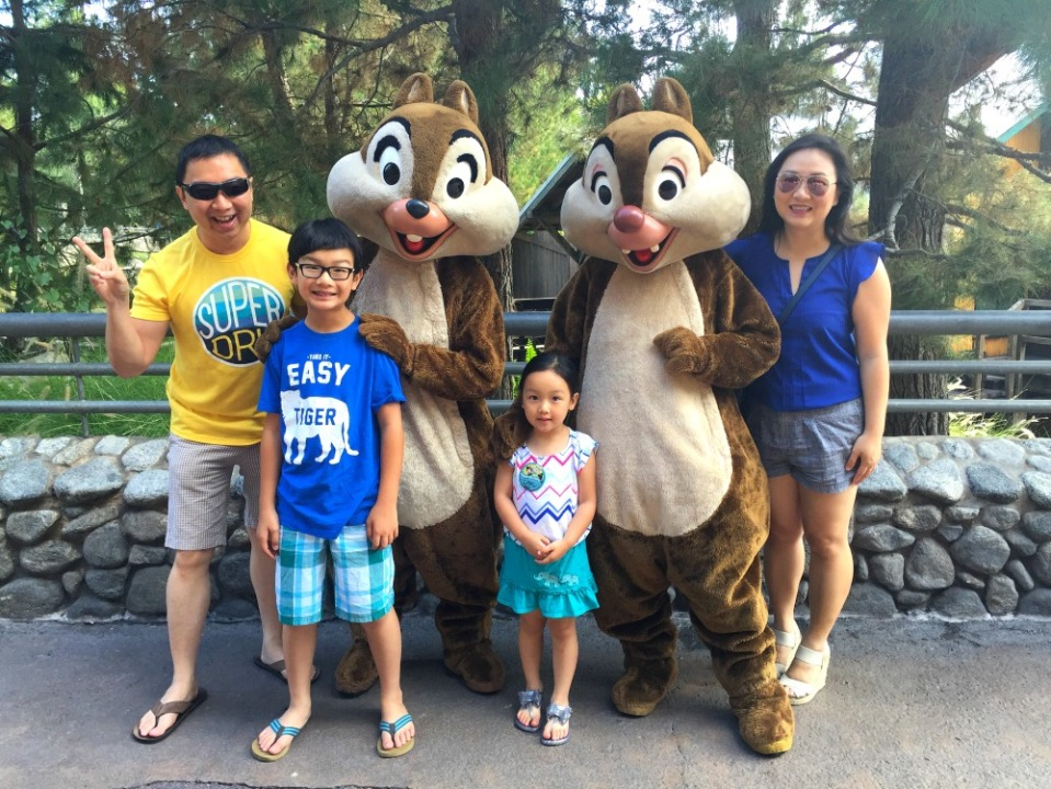 disneyland 2 chip and dale
