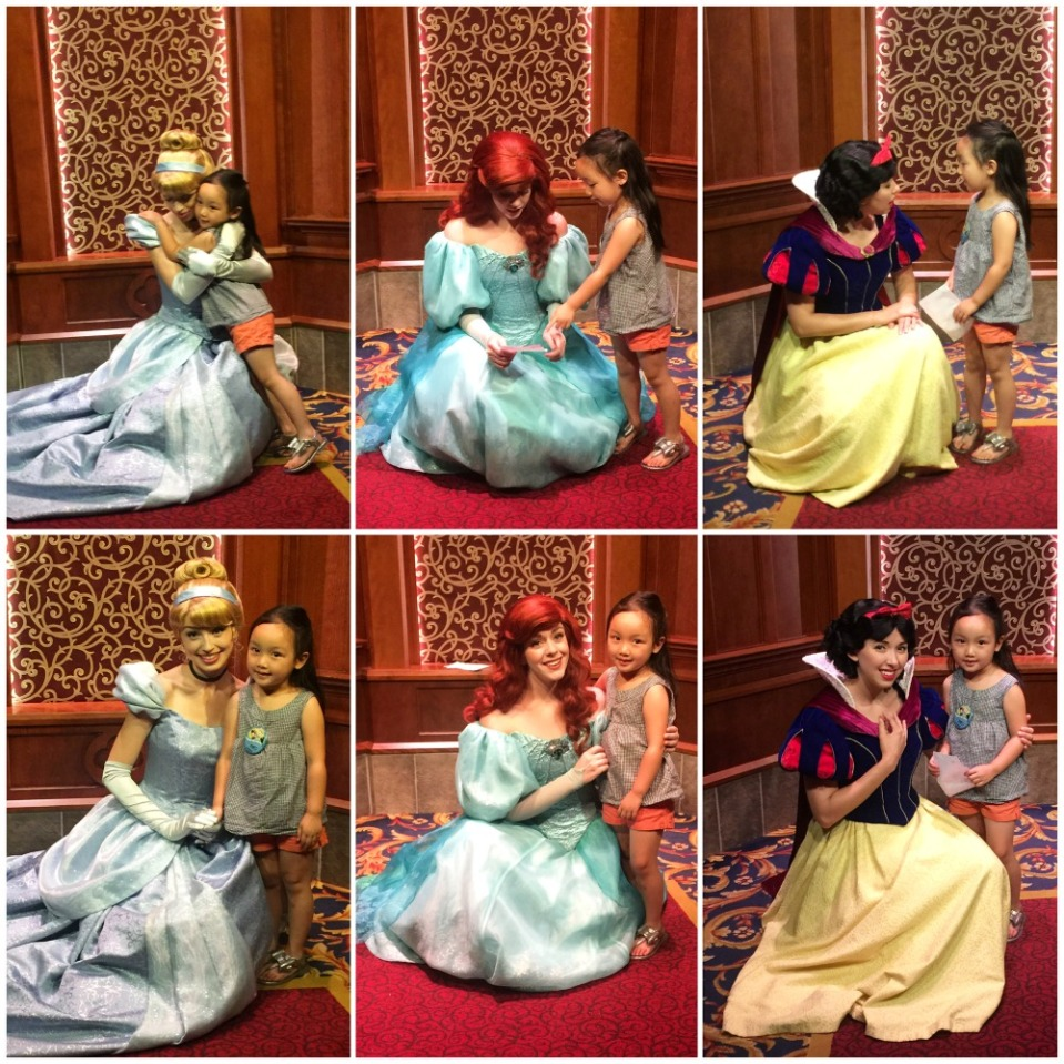 disneyland 25 princess